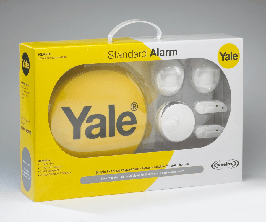 Yale Hsa6200 Wirefree Burglar Alarm Police Discount Offers
