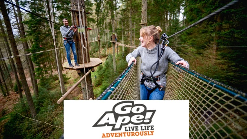 Everyone has the Go Ape spirit, just waiting to be unleashed!