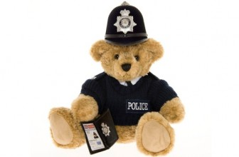British Bobby Teddy Bear
