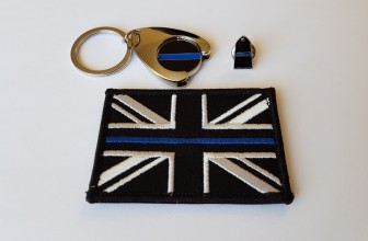 Thin Blue Line Set – Tie Pin+Badge+Trolley Coin