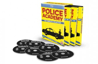 POLICE ACADEMY BLU RAY- The Complete Collection