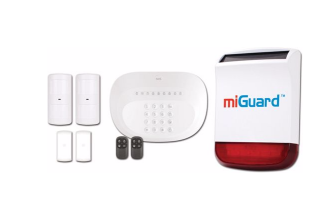 miGuard by Response Wireless Alarm System with Replica Alarm