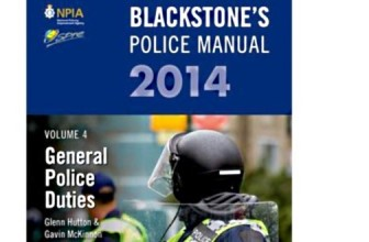 10% DISCOUNT ON BLACKSTONE'S GENERAL POLICE DUTIES MANUAL 2014