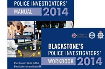 DISCOUNT ON BLACKSTONE'S INVESTIGATOR MANUAL AND WORKBOOK 2014