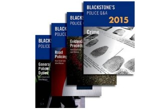 11% DISCOUNT ON BLACKSTONE'S POLICE MANUALS 2015