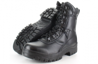MEN'S COMBAT, POLICE, MILITARY PATROL BOOTS
