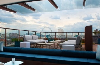 DINNER FOR TWO AT H10 SKY BAR, LONDON