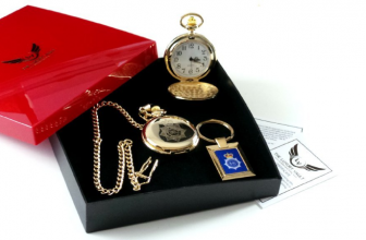 Pocket Watch Gift Set for Police Officer