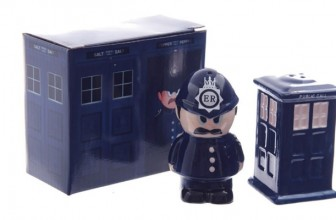 Policeman and Police Box – Salt and Pepper Set