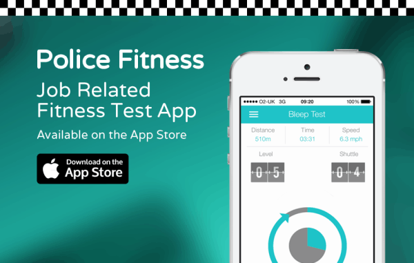 police fitness bleep test training app police discount offers. Black Bedroom Furniture Sets. Home Design Ideas