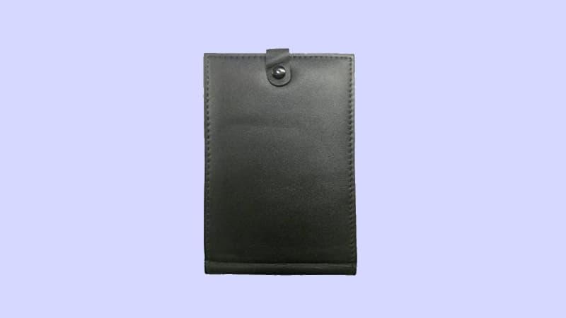 Pocket book covers police scanner