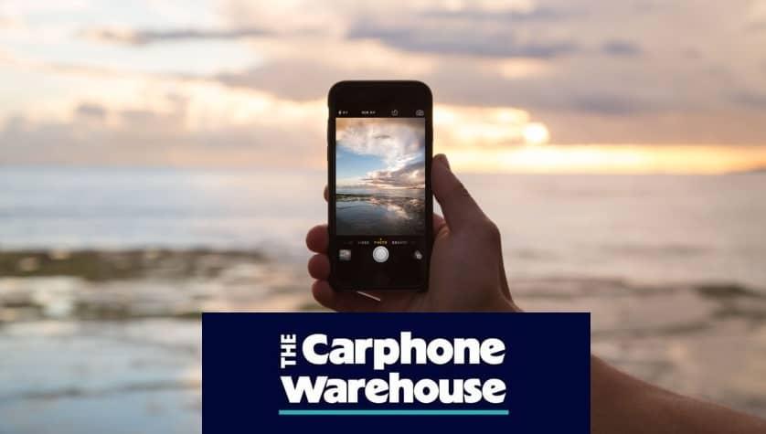 Carphone Warehouse Mobile Phone Savings