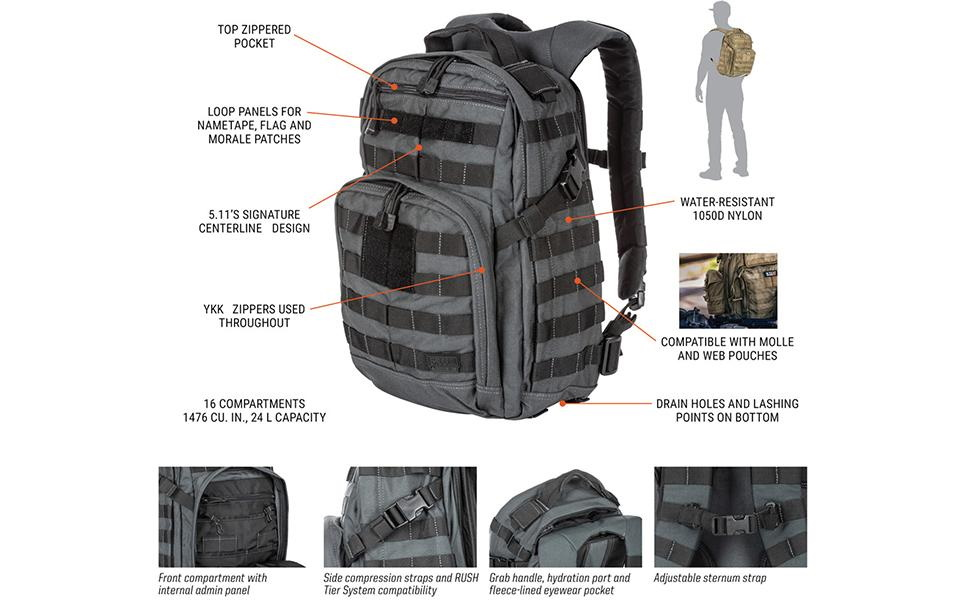 5.11 police bag with discount