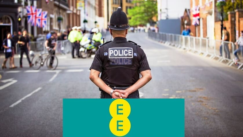 ee mobile police discount