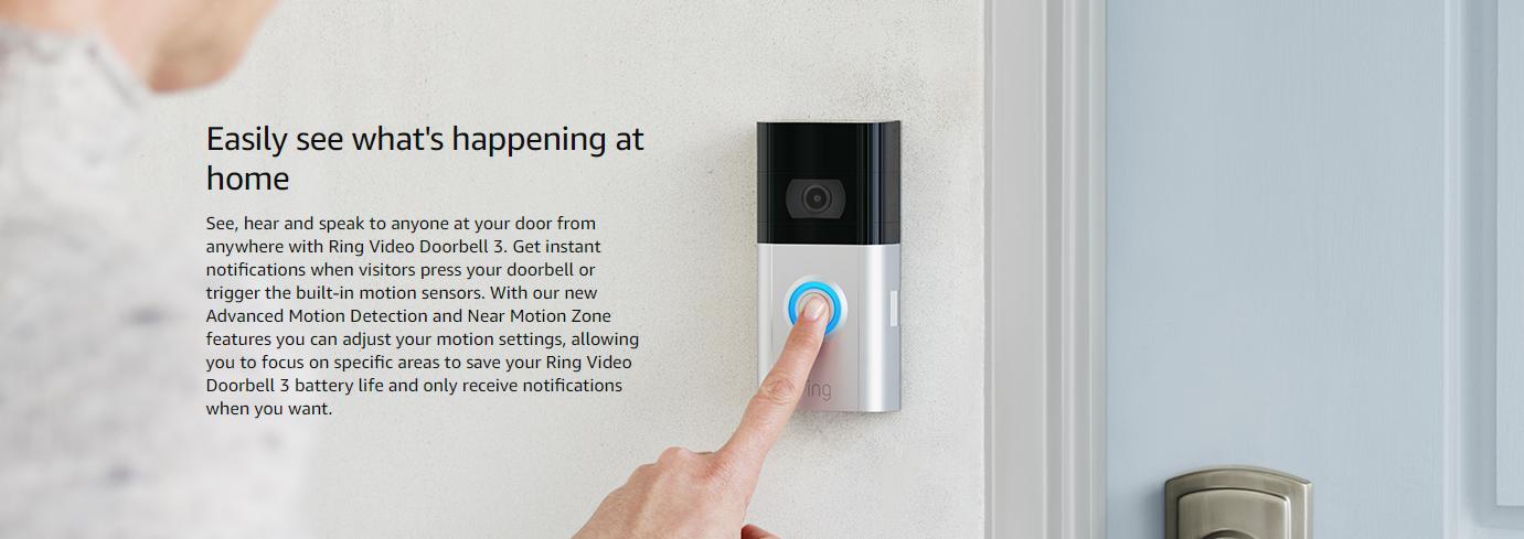 ring doorbell police discount