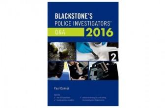 12% Off Blackstone's Police Investigators' Q&A 2016