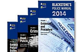 Blackstone's Police Manuals 2014