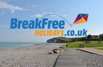HOLIDAYS FROM £10 AT BREAK FREE HOLIDAYS.CO.UK
