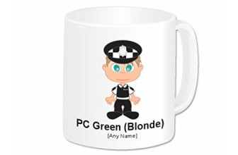 PERSONALISED POLICE MUG