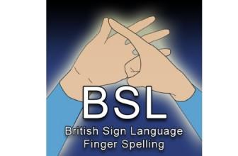 British Sign Language – Finger Spelling